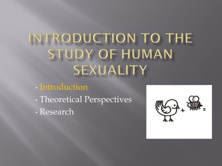 introduction to the study of human sexuality n.