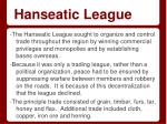 hanseatic league1