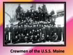crewmen of the u s s maine