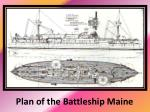 plan of the battleship maine