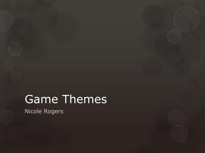 game themes n.