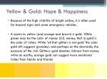 yellow gold hope happiness1