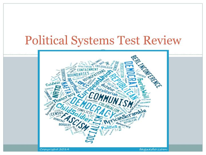 political systems test review n.