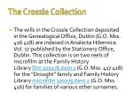 the crossle collection