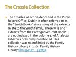 the crossle collection1