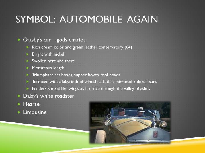 Symbol:  Automobile  Again