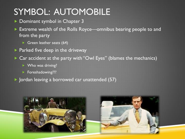 Symbol:  Automobile