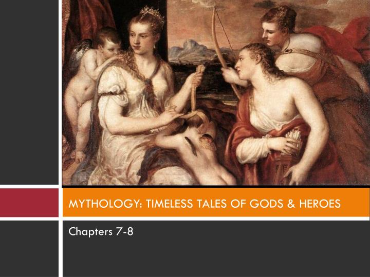 mythology timeless tales of gods heroes n.
