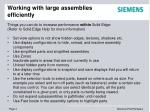 working with large assemblies efficiently2