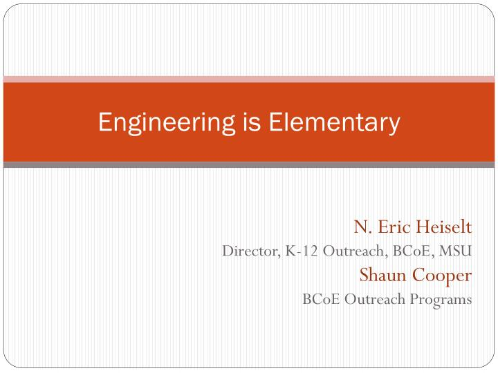 engineering is elementary n.