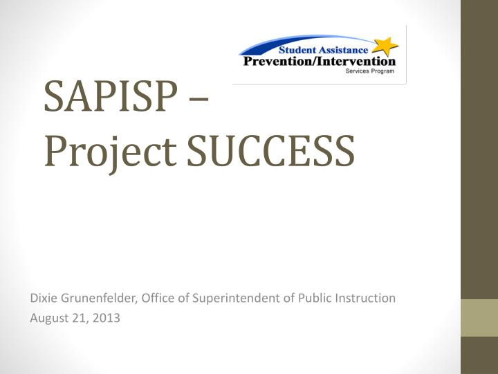 sapisp project success n.