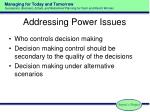 addressing power issues