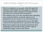 structural aspect of tat contd1