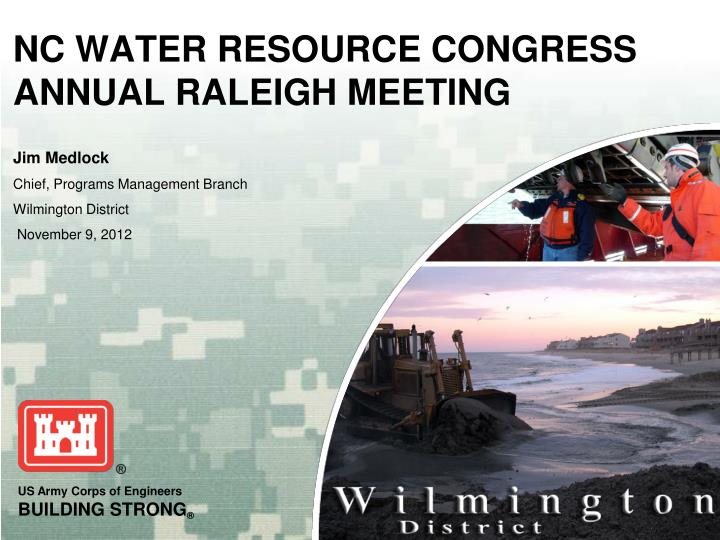 nc water resource congress annual raleigh meeting n.