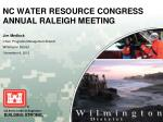 nc water resource congress annual raleigh meeting