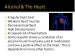 alcohol the heart
