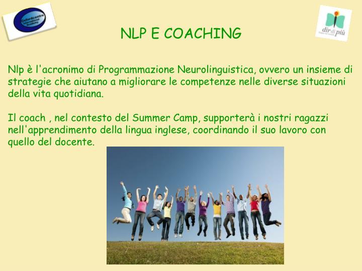 NLP E COACHING