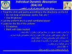 individual dynamic absorption ida kit