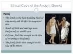 ethical code of the ancient greeks2