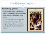 the odyssey begins1