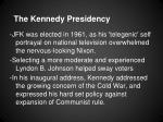 the kennedy presidency