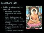 buddha s life