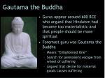 gautama the buddha