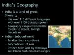 india s geography