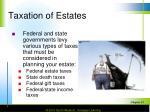taxation of estates