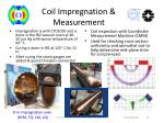 coil impregnation measurement