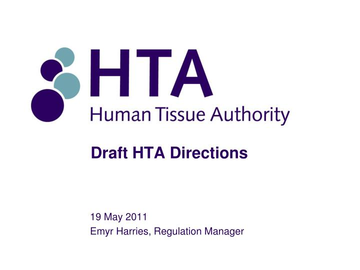 draft hta directions n.