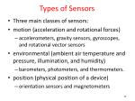 types of sensors1