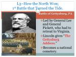 l3 how the north won 1 st battle that turned the tide