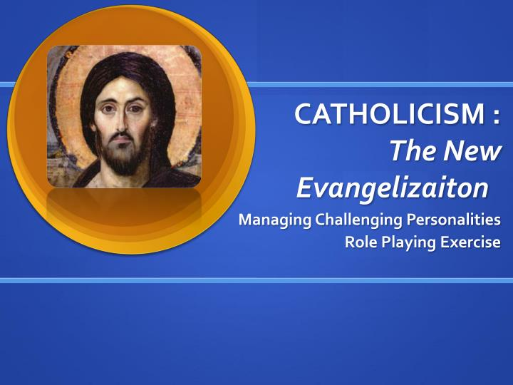 catholicism the new evangelizaiton n.
