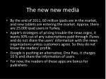 the new new media3