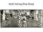 keith haring pop shop