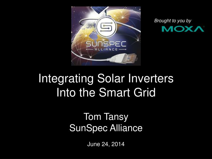 integrating solar inverters into the smart grid n.