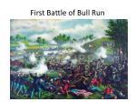 first battle of bull run2