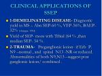clinical applications of ssep