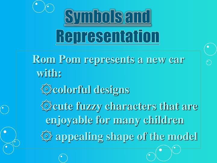 Symbols and representation