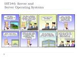ist346 server and server operating systems