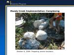 mundy creek implementation complexing1