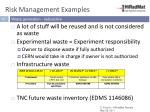 risk management examples1