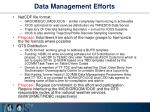 data management efforts
