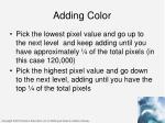 adding color1