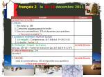 fran ais 2 le 15 16 d cembre 20111