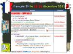 fran ais 5h le 15 16 d cembre 2011