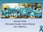 survivor photo minnesota ovarian cancer alliance 2011 walk run