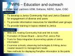 wp6 education and outreach