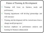 future of training development1